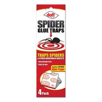 Doff Spider Glue Traps 4 Pack