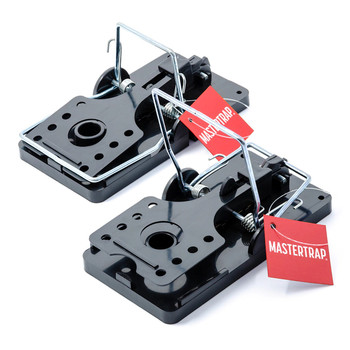 Mastertrap Easy Set Snap Rat Traps 2 Pack