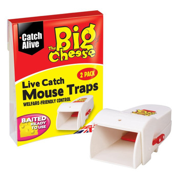 The Big Cheese Live Catch Mouse Trap 2 Pack