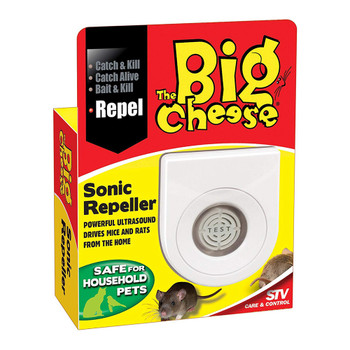 The Big Cheese Mouse and Rat Sonic Rodent Repeller