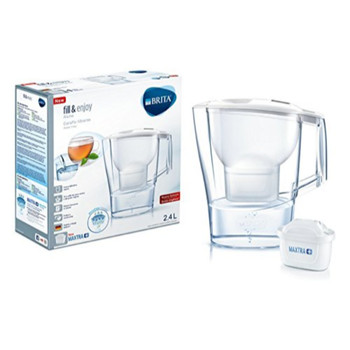 Brita Aluna Cool Water Filter Jug and Cartridge, White