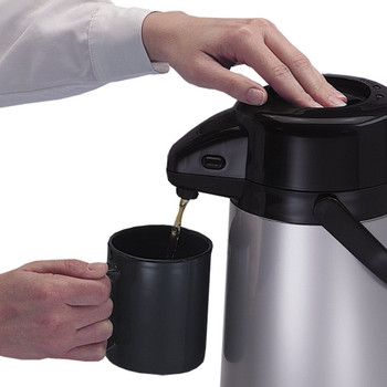 Thermos Push Button Pump Pot Flask, 1.9 L