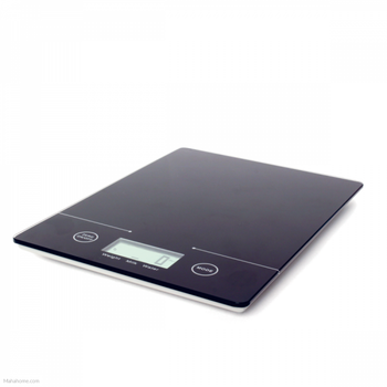 Sabichi Digital Slimline design Kitchen Scale Auto Off, 5kg, Black