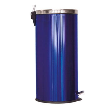 SQ Professional Gems range Metallic color 30 Litre Pedal Bin