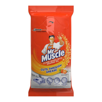 Mr Muscle Large Floor Cleaning Wipes 12 Pack