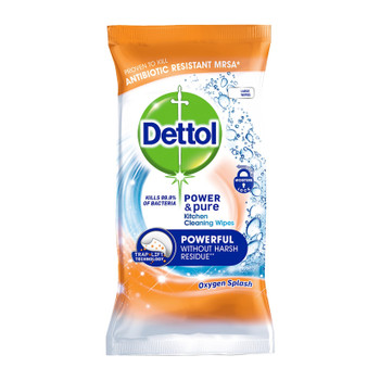 Dettol Power Pure Kitchen Wipes 30 wipes