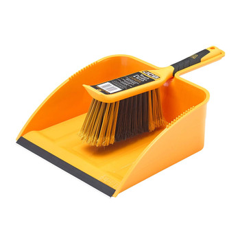 JCB Ultimate Strong Trade Tough Large Dustpan and Brush Set
