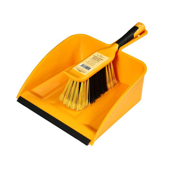 Ultimate Strong Trade Tough Large Dustpan and Brush Set
