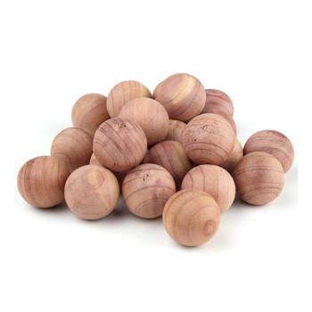Mastertrap Natural Cedar Wood Balls for Moth Repellent Wardrobe Clothes Storage 12pc