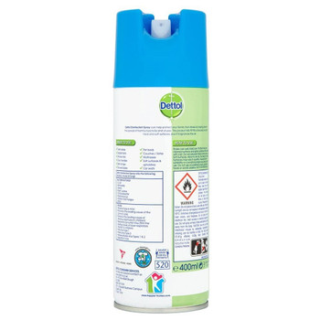 Dettol All-in-One Crisp Linen Disinfectant Spray, 400ml