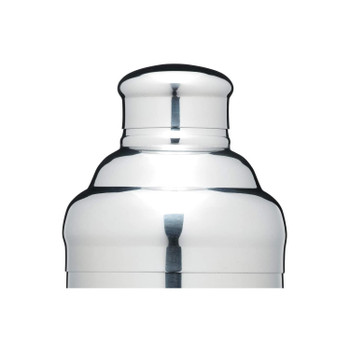 BarCraft Easy Grip Cocktail Shaker, Stainless Steel, 500 ml