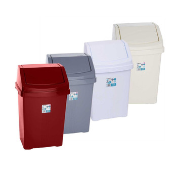 Whatmore Plastic Casa Swing Bin Durable and lightweight