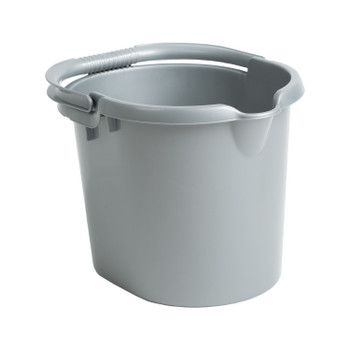 Whatmore Mop Bucket Silver 16L