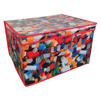Jumbo Storage Box Folding With Handles Toy Design