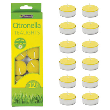 Citronella Tea Light Candles