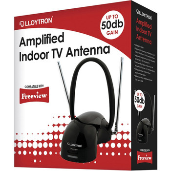 Amplified Indoor TV Antenna with Digital Compatibility