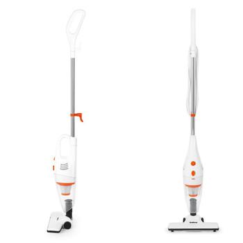 2-in-1 Multifunctional Vacuum Cleaner, 600 W, 1 Liter, White/Orange