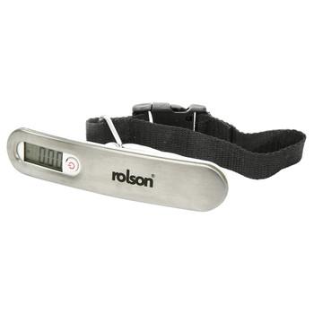 Rolson Digital Luggage Scale - Silver