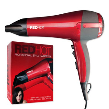 Redhot Professional Hair Dryer 2000w (336735)
