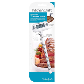 Digital Meat Thermometer Probe with Protective Cover
