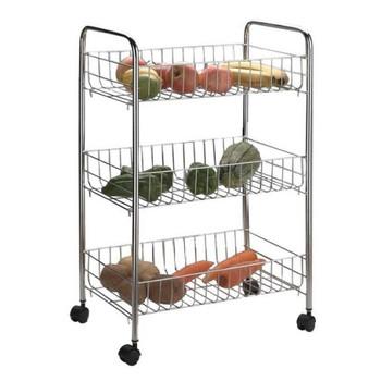 Apollo Chrome Economy Vegetable Trolley