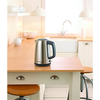 Kenwood Kettle, 1.7 Litre, 3 kW, Brushed Stainless Steel [Energy Class A]