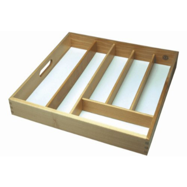 Extra large Cutlery drawer Rubberwood Strong Easy clean