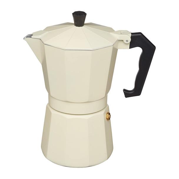 Le'Xpress Italian Style 290ml Cream Coloured Espresso Coffee Maker