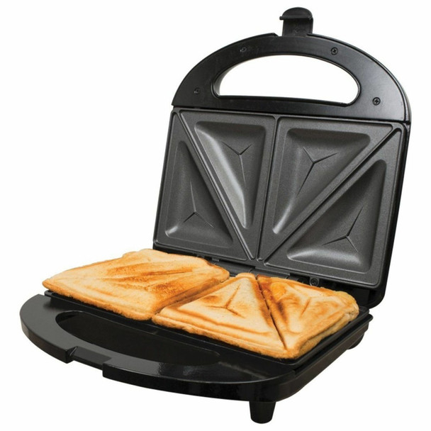Sandwich Toastie Maker Non-stick 700 Watt with double slice fixed plates