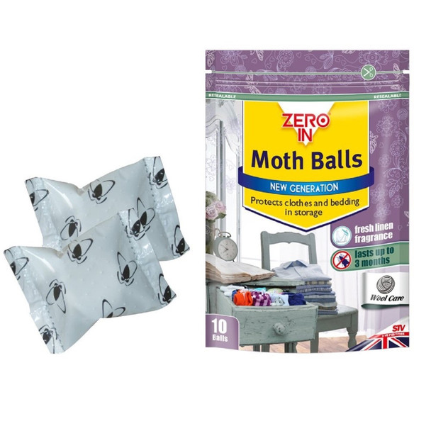 Zero In Moth Ball with Lavender Fragrance