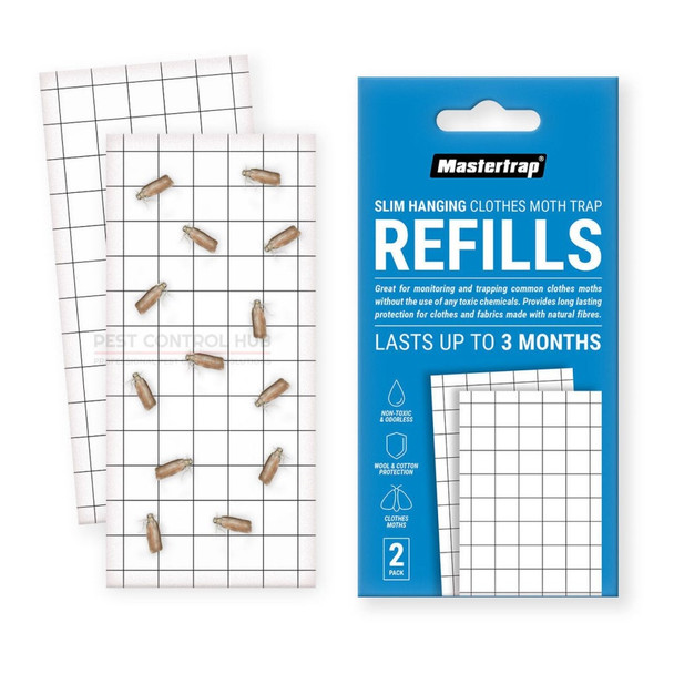Pheromone Refill Pad for Clothes Moth Trap 2 Pack