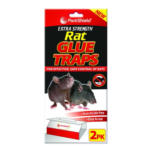 Pestshield Extra Strength Rat Glue Trap 2 Pack