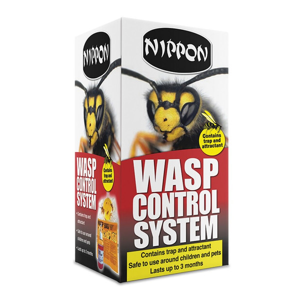 Nippon Baited Wasp Control System with Trap and Attractant