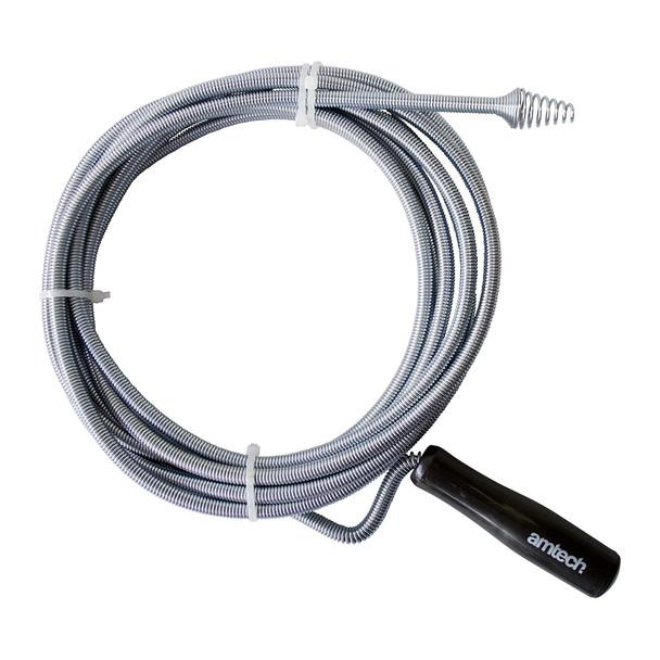 Amtech Flexible Drain & Waste Pipe Unblocker 5 Metre