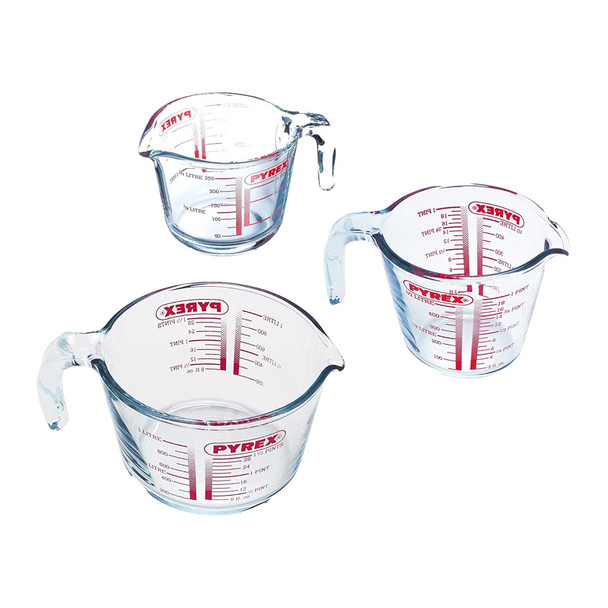 Pyrex Glass Measuring jug 0.25 litre