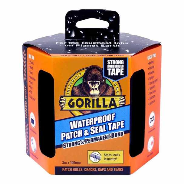 Gorilla Tape Waterproof Patch and Seal 100mm x 3m