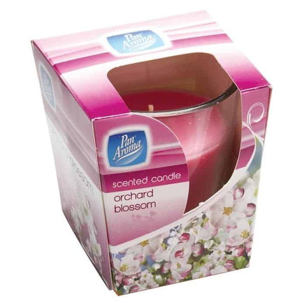 Pan Aroma Scented Glass Candle