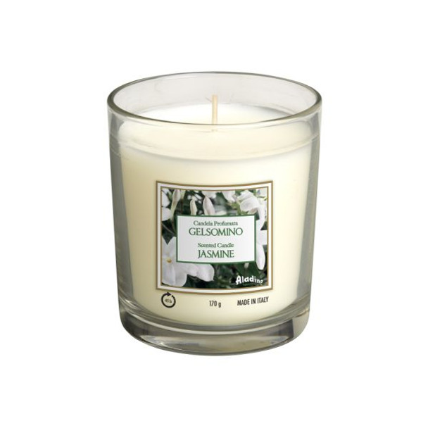 Aladino Medium Jar Scented Candle 170g