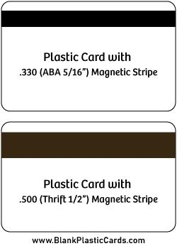 AVA vs Thrift Magnetic Stripe Cards