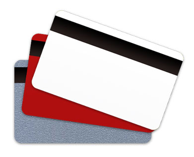 Blank Plastic Cards with Magnetic Stripe