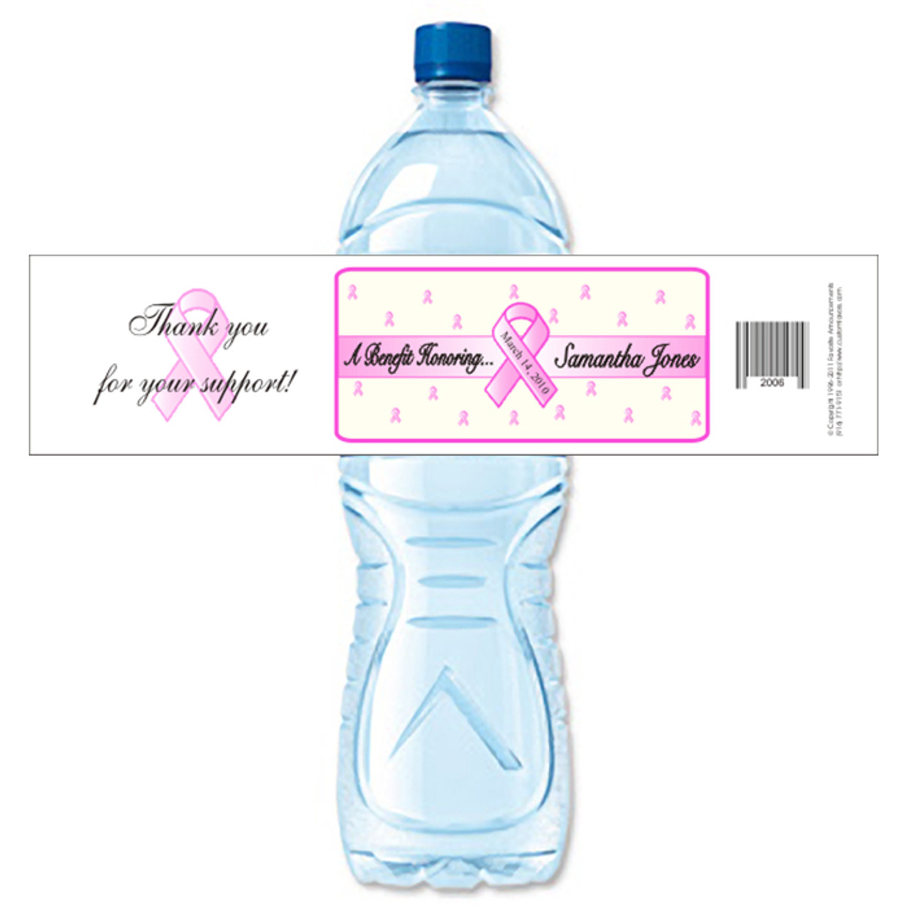 Share plastic water bottles breast cancer think, that