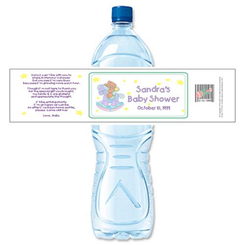 [Y21] Rocking Horse weatherproof water bottle label