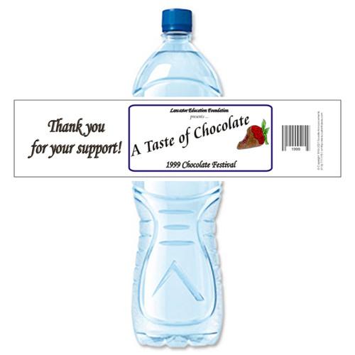 [Y146] Event Business Card weatherproof water bottle label