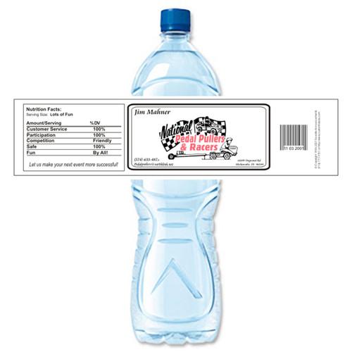 [Y150] Sample Business Card weatherproof water bottle label