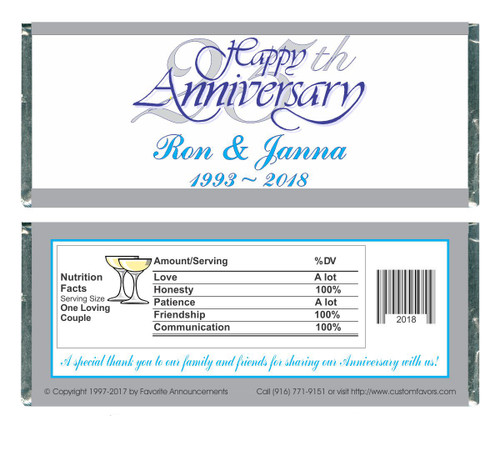 [W56] 25th Anniversary Wrappers - Front and Back
