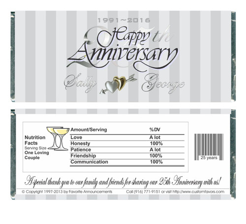 [W64] Silver Anniversary Wrappers - Front and Back