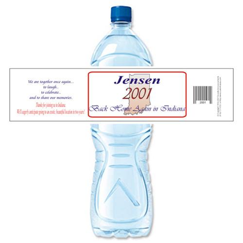 [Y308] State Reunion weatherproof water bottle label