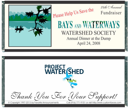 [W258] Non-Profit Dinner Wrappers - Front and Back