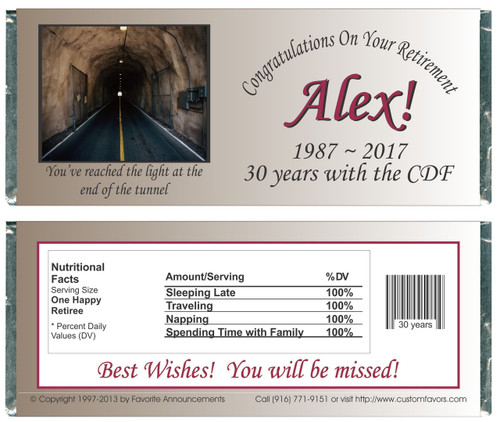[W318] Tunnel Retirement Wrappers - Front and Back