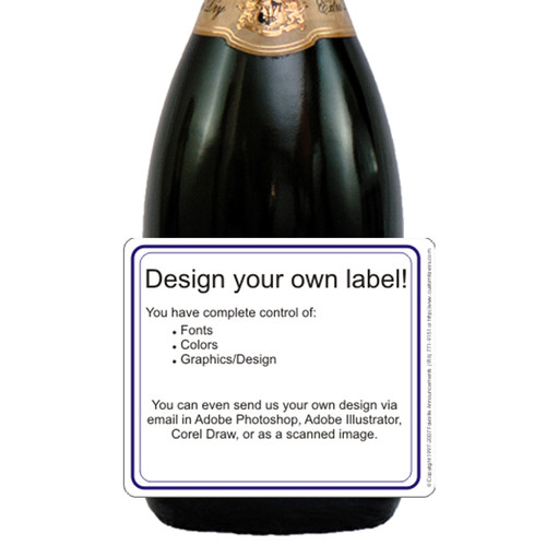 [L00] Generic Label Label - closeup